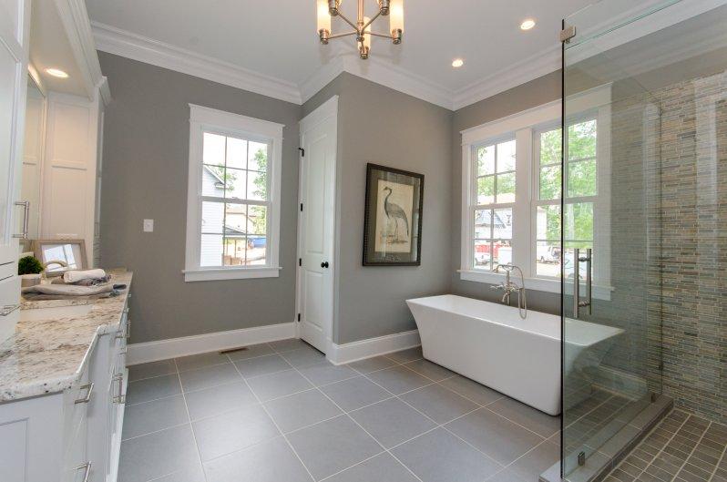 Southern Living Home Master Bathroom In Hallsley Hallsley